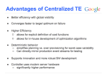 Centralized TE