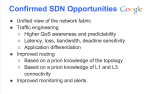 SDN Opportunities